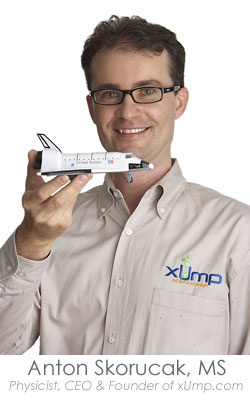 Anton Skorucak, MS. CEO at xUmp.com