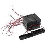 Buy 10 pack 1xAA Battery Holders with Cover & Switch.