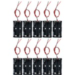 10 pack 2xAA Battery Holders.