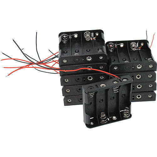 10 pack 4xAA Battery Holders - Image one