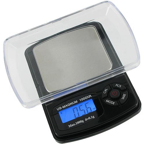 1000g x 0.1g Precision Digital Scale - Image two