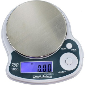1000g x 0.1g Digital Pocket Scale (DigiWeigh) - Image One