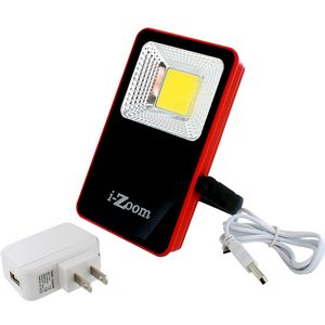 1000 Lumen COB Rechargeable Floodlight with Stand - Image One