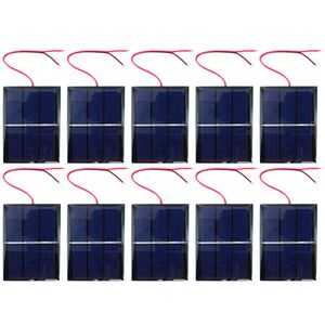 10 pack Solar Cells - 1.5V 400mA 80x60mm - Image One