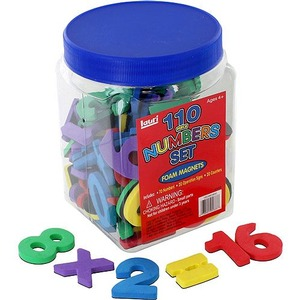 110 Magnet Numbers Set - Image One
