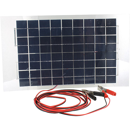 12V 10W Waterproof Solar Panel - Image one