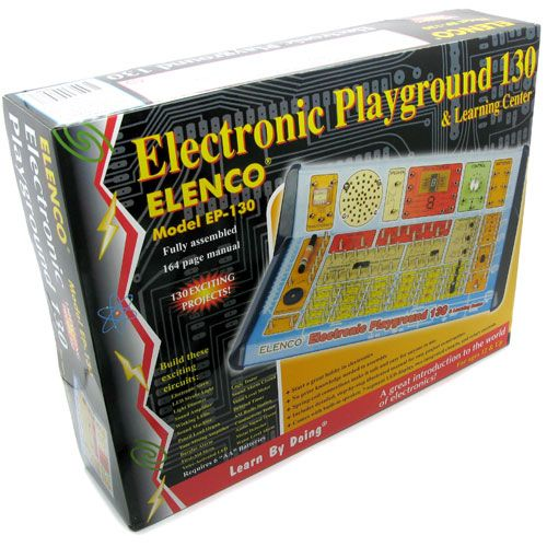 130 Electronics Projects Kit - Image one