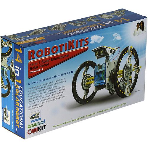 14-in-1 Educational Solar Robot - Image one