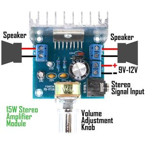 15W Stereo Audio Amplifier - Image two