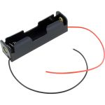 18650 Lithium Cell 3.7V Battery Holder with Leads.
