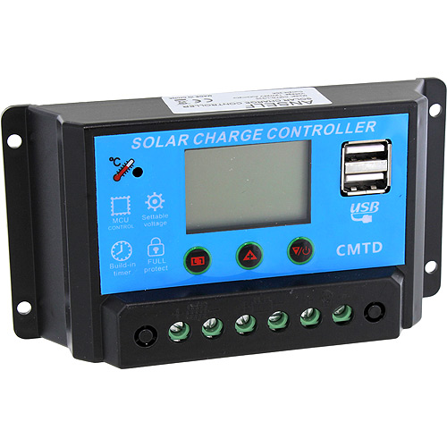 20A 12V Lithium Battery Solar Charge Controller - Image one