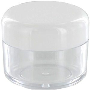 25ml Plastic Gem Jars - 12pk - Image One