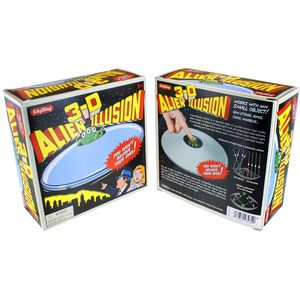 3-D Alien Illusion Saucer - Image two