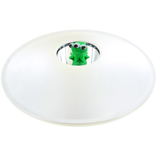 3-D Alien Illusion Saucer - Image one