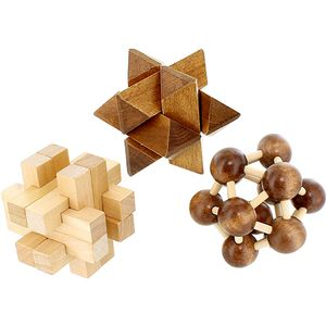3-in-1 Wood Puzzle Gift Set - Image two