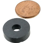 3/4 inch Ring Levitation Magnet - 1/4 hole.