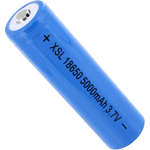 3.7V 5000mAh 18650 Lithium Battery Cell - Image one