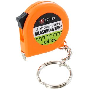 3ft 1m Measuring Tape Keychain - Image One