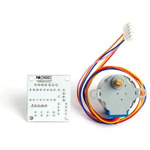 5 VDC Stepper Motor with ULN2003 Driver Board - Image two