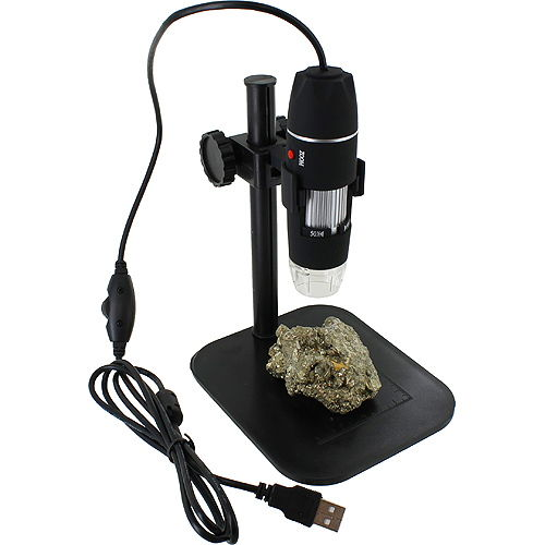 500X USB Digital Microscope with Stand - Image one