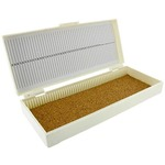 Microscope Slide Box - 50 Slides Capacity.