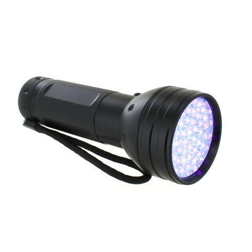 51 LED UV Scorpion Blacklight Flashlight - 395nm  - Image one