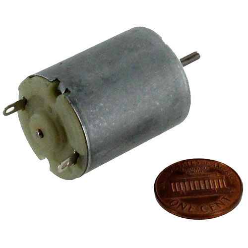 6V DC Motor 340mA 14400RPM - Image two