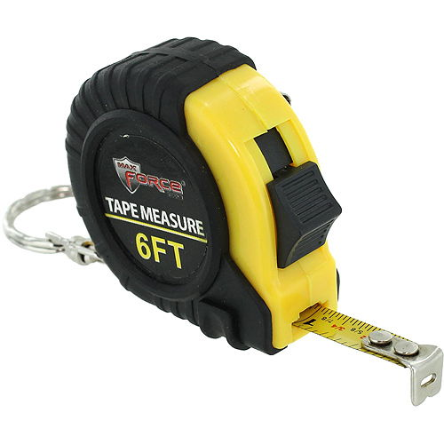 6ft Tape Measure Keychain - Image one