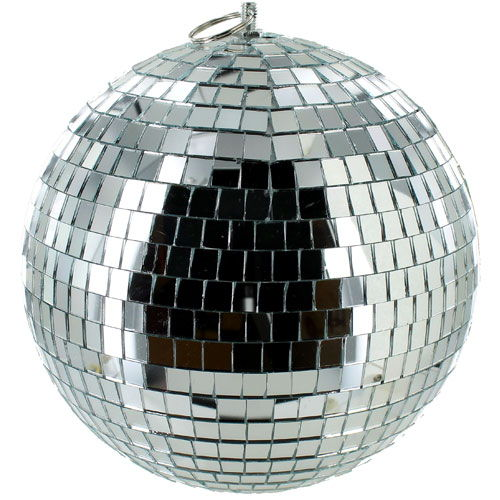 8 inch Mirror Ball - Image one