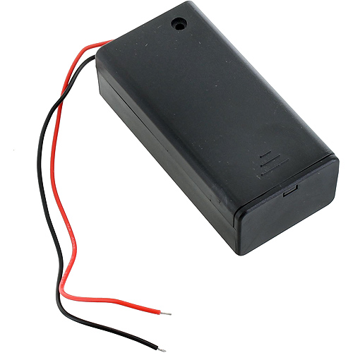 9V Battery Holder with Switch and Leads - Image two