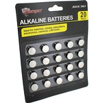 AG-13 Alkaline Batteries - 20 pack.