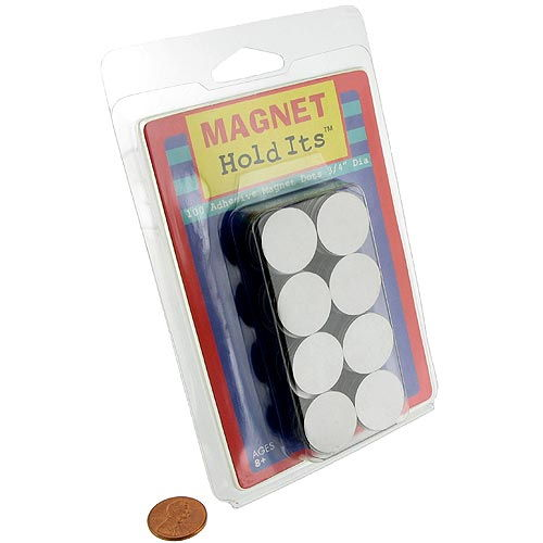 Adhesive Magnetic Dots - Image one