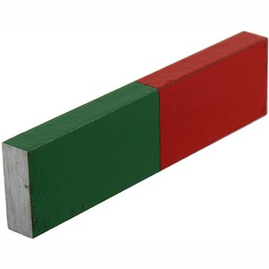 Alnico Red-Green Bar Magnet - Image One
