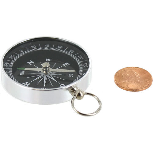 Aluminum Compass - 1.75 inch - Image one