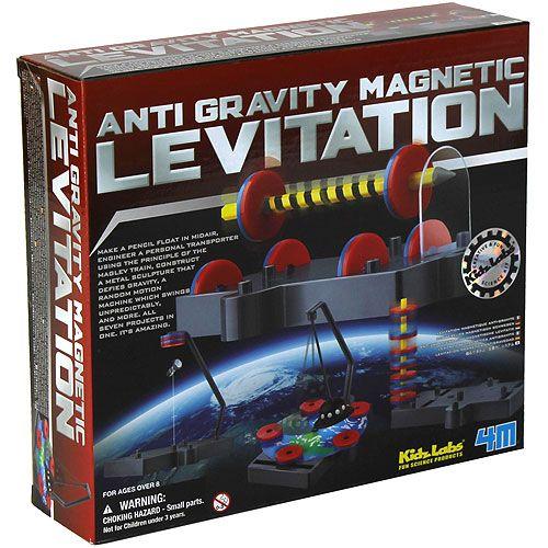 Anti-Gravity Magnetic Levitation 4M Kit | $18 00