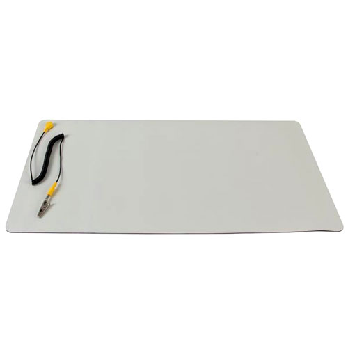 Anti-Static Mat with Ground Cable - 11.8 x 21.6 inches - Image one