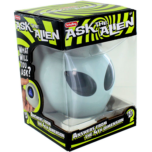 Ask the Alien - Magic 8 Ball - Image one