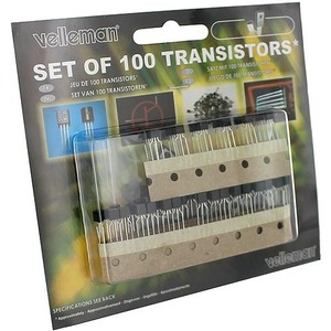 Assorted Transistors Set - 100 pcs - Image One