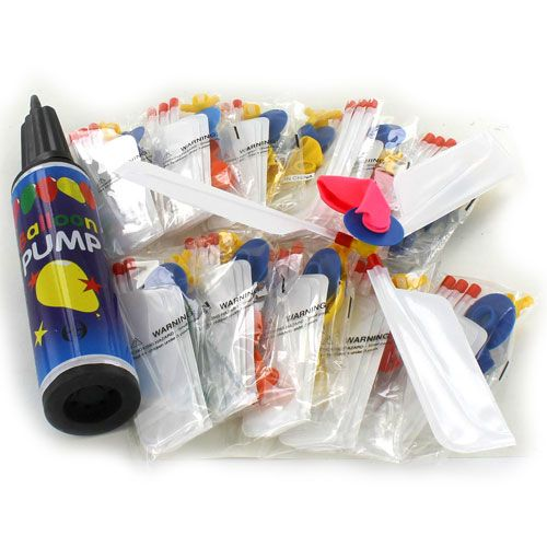 Balloon Helicopter Classroom 12 Pack - Image one