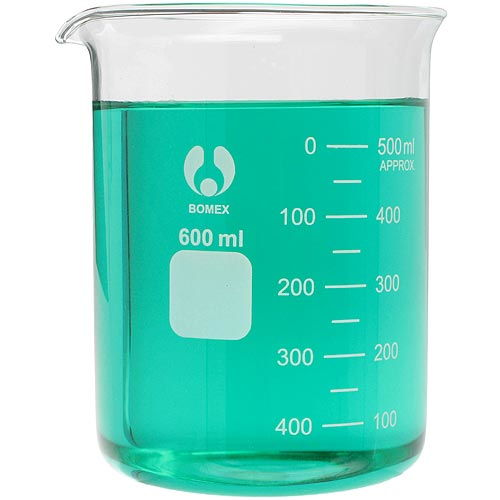 Glass Beaker - 600ml - Image one