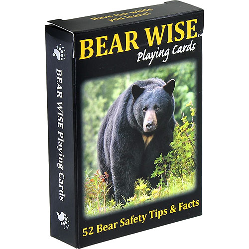 Bear Smart Playing Cards - Image one