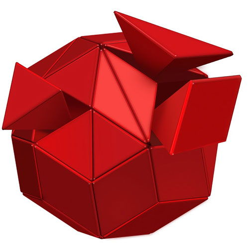 Big Ball of Whacks - Red - Image two