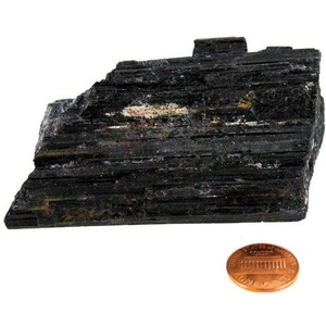 Black Tourmaline - Large Chunk (2-3 inch) - Image One