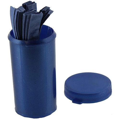 litmus paper for sale The blue litmus will turn red or pink when it comes into contact with an acidic solution used for science projects one vial supplied in plastic container, containing about 100 paper strips.