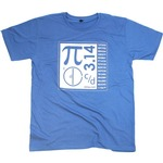 Blue Pi Math T-Shirt.