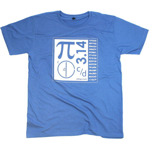 Blue Pi T-Shirt - Image one