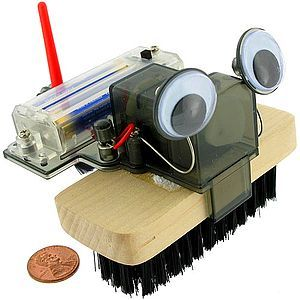 Brush Robot 4M Kit (Image One) @ xUmp.com