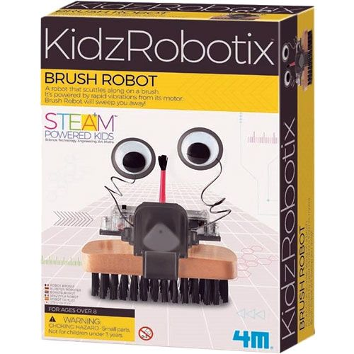 Brush Robot 4M STEM Kit - Image one