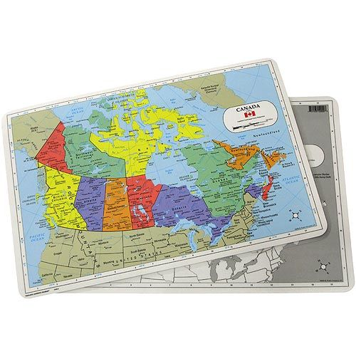 Canada Map Placemat - Image one