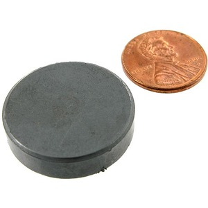 Ceramic Levitation Disc Magnet - Image One